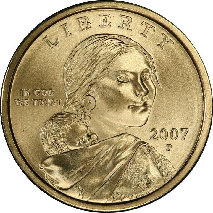 sample image for 2007-P $1  SP Satin Finish