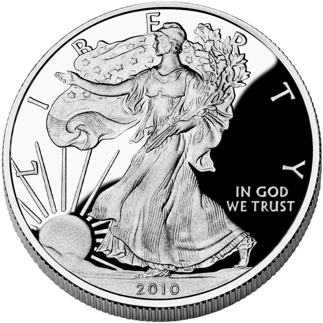 sample image for 2010-W Silver Eagle $1  PR DCAM
