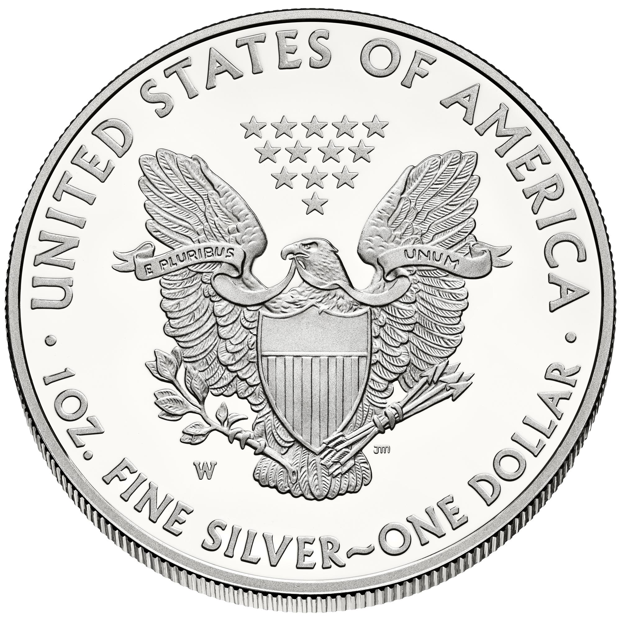 sample image for 2014-W Silver Eagle $1  PR DCAM