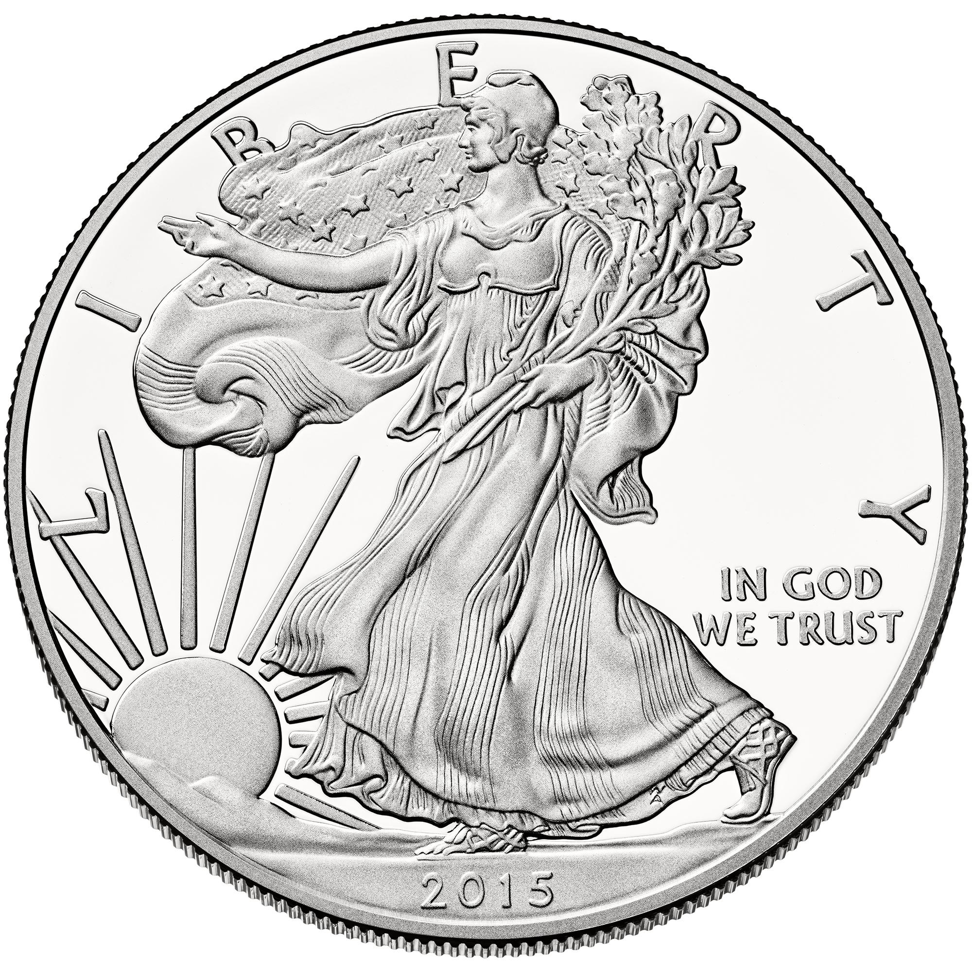 sample image for 2015-W Silver Eagle $1  PR DCAM