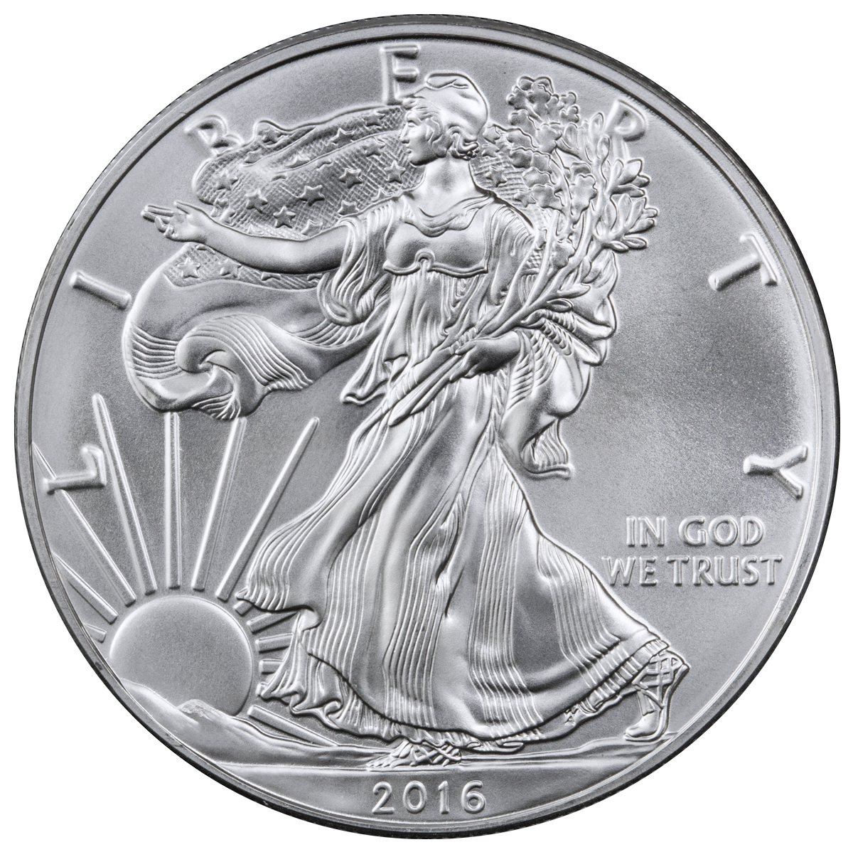 $1 Silver Eagles image