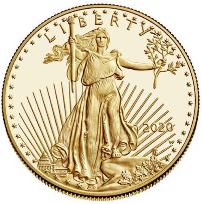 sample image for 1986-Present Gold Eagle $50  PR DCAM [Type]