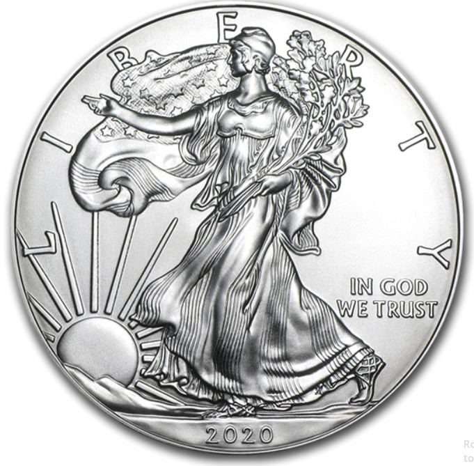 sample image for 2020 Silver Eagle $1  MS