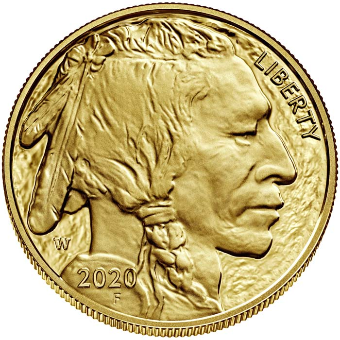 sample image for 2020-W American Buffalo $50  PR DCAM