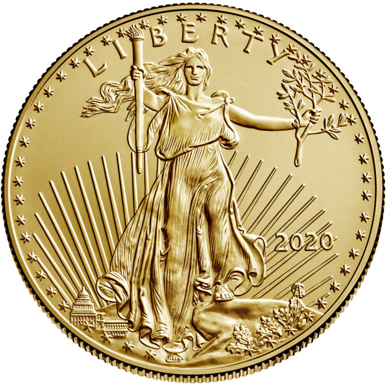 sample image for 2020 Gold Eagle $50  MS