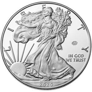 sample image for 2020-W Silver Eagle $1  PR DCAM v75 Privy WWII Anniversary