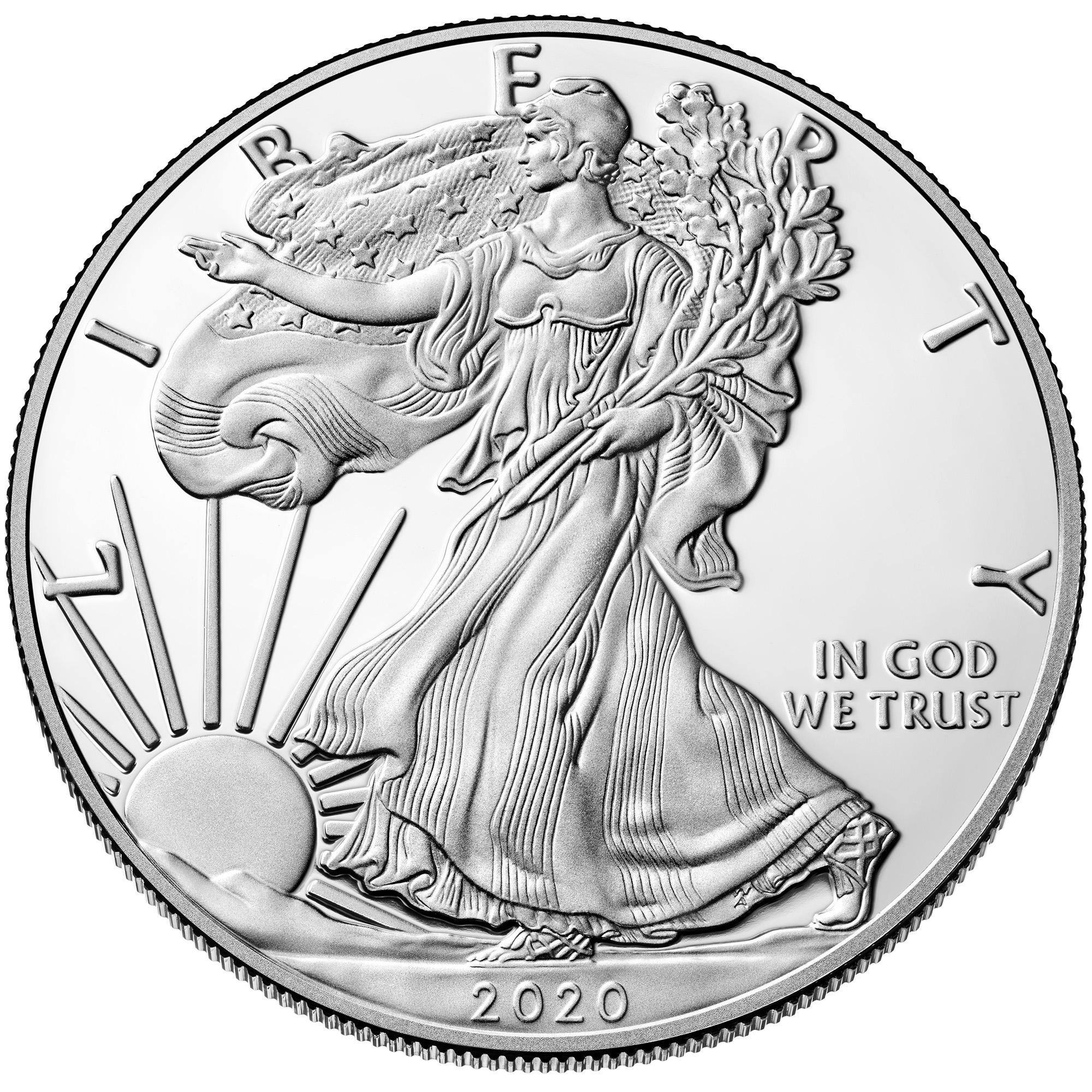 sample image for 2020-W Silver Eagle $1  PR DCAM