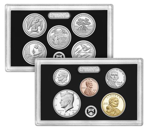sample image for 2020-S Silver Proof Set 1c-$1 PR DCAM 10 Coins
