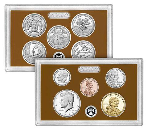 sample image for 2020-S Proof Set 1c-$1 PR DCAM 10 Coins