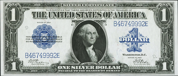 Silver Certificates - Large image