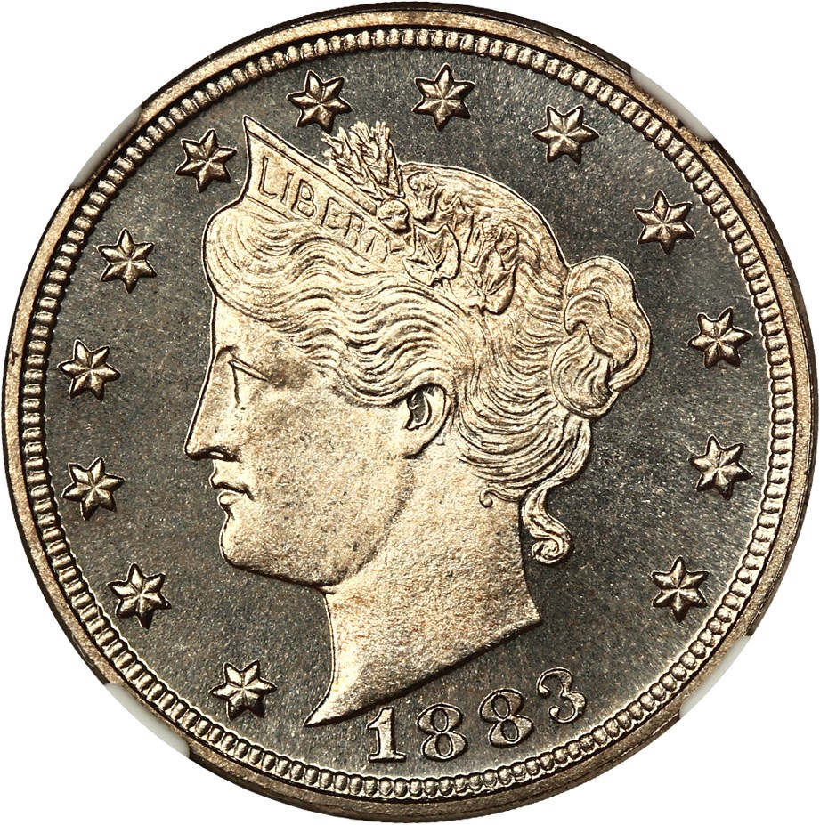 sample image for 1883 5c PR No Cents [Type]