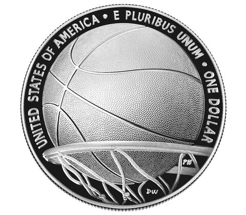 sample image for 2020-P Basketball Hall of Fame $1  PR DCAM
