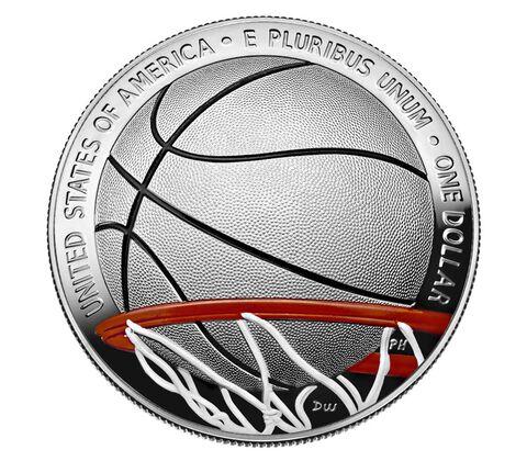 sample image for 2020-P Basketball Hall of Fame - Colorized $1  PR