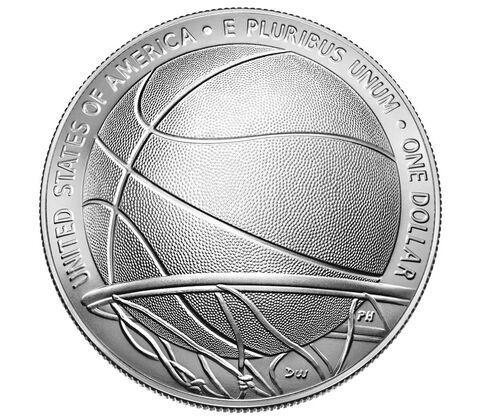sample image for 2020-P Basketball Hall of Fame $1  MS