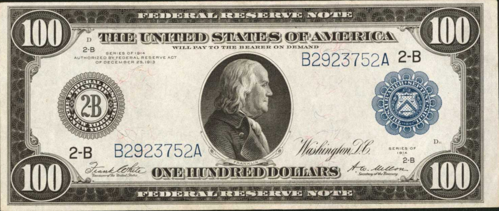 Federal Reserve Notes - Large image