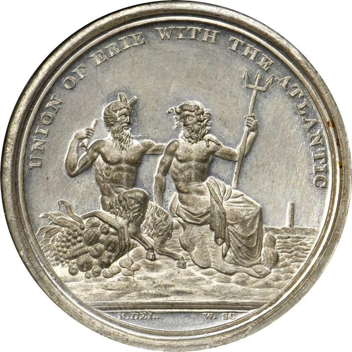sample image for 1826 Erie Canal, White Metal SC$1 MS (HK-1)