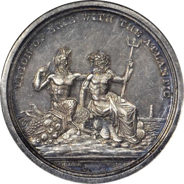 sample image for 1826 Erie Canal, Silver SC$1 SP (HK-1000)