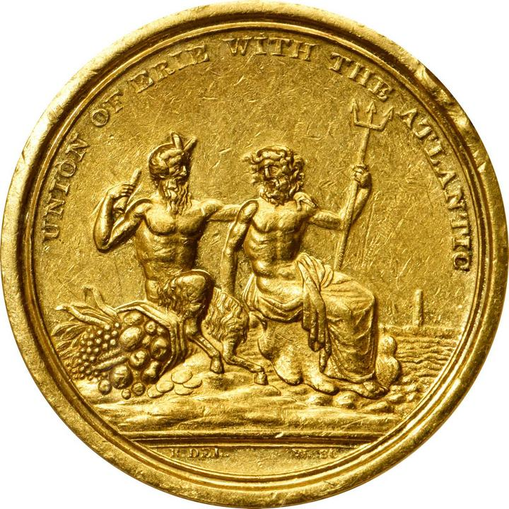 sample image for 1826 Erie Canal, Gold SC$1 MS (HK-1001)