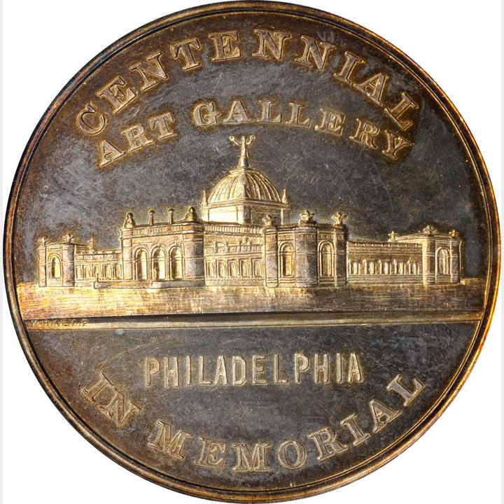 sample image for 1876 Art Gallery, Silver SC$1 MS (HK-83a)