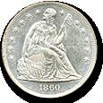 Seated Dollars image