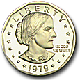 Susan B. Anthony Dollar image