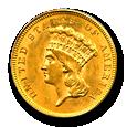 $3 Princess Gold image