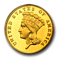 $3 Princess Gold (Proof) image