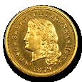 $4 Stella Gold (Proof) image
