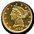 $5 Liberty Gold (Proof) image