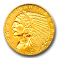 $5 Indian Gold image