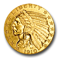 $5 Indian Gold (Proof) image