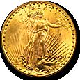 $20 Saint Gaudens Gold image