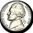 Jefferson Nickels (Proof) image