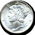 Mercury Dimes image