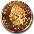 Indian Cents (Proof) image