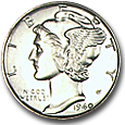Mercury Dimes (Proof) image