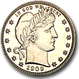 Barber Quarters (Proof) image