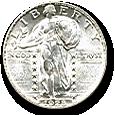 Standing Liberty Quarters image