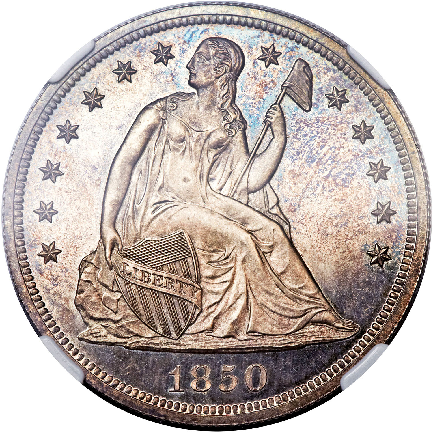 sample image for 1840-1866 $1  MS No Motto [Type]