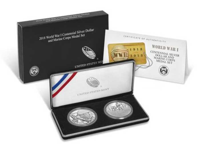 sample image for 2018 WWI Marines 2pc PR