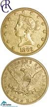 Image of 1886 $10  NGC XF45 ex: Richmond