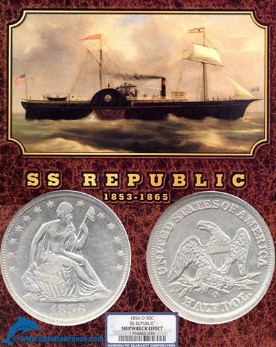 Image of 1856-O 50c NGC SS Republic Shipwreck Effect