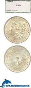 Image of 1886-O $1  PCI AU58