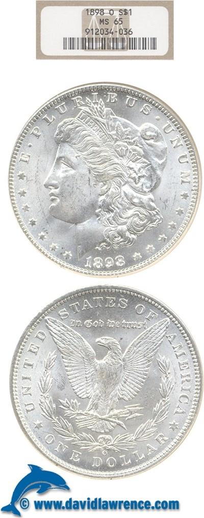Image of 1898-O $1  NGC MS65
