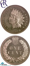 Image of 1908 1c  NGC Proof 64 RD ex: Richmond Collection