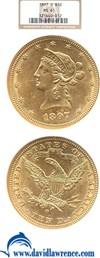 Image of 1897-O $10  NGC MS61