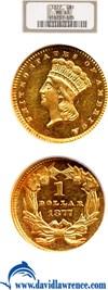 Image of 1877 G$1  NGC MS63