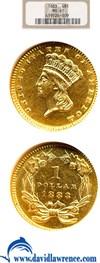 Image of 1883 G$1  NGC MS61