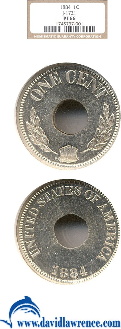 Image of 1884 Pattern 1c (Judd-1721) NGC Proof 66