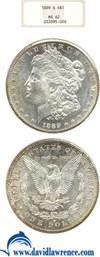 Image of 1889-S $1 NGC MS62